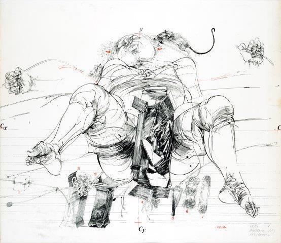 Vladimir Velickovic, 'Naissance n° 3', Digard Auction