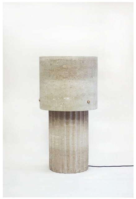 , 'Large Portland Limestone Lamp,' 2014, Johnson Trading Gallery