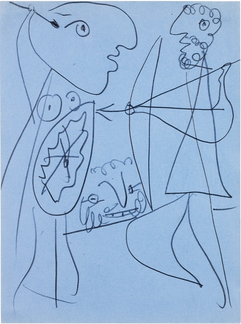 Pablo Picasso, 'Etude pour Lysistrata - Divers personnages', 1933, De Jonckheere