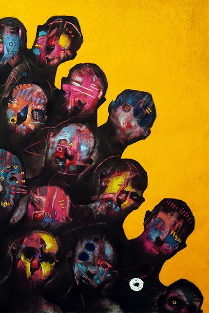 , 'Harlequins,' 2018, ANNO DOMINI