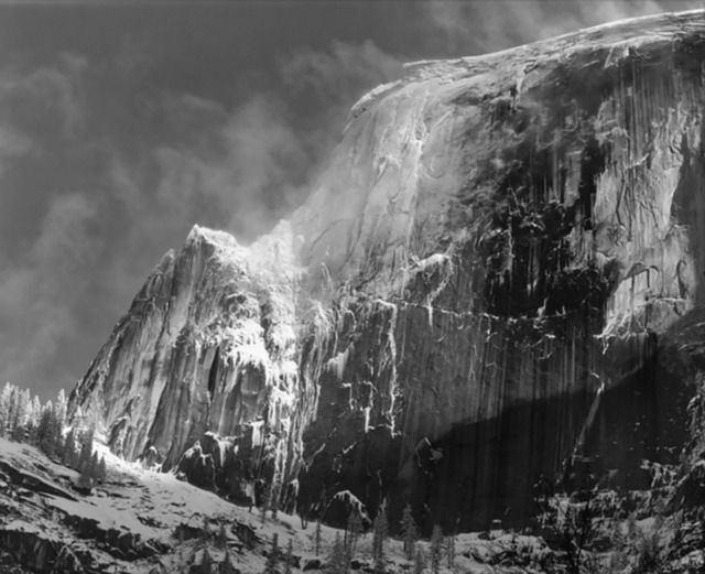, 'Half Dome with Blowing Snow,' ca. 1955, GALLERY M