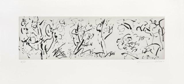 , 'La Forêt I,' 2014, Goya Contemporary/Goya-Girl Press