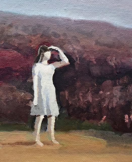 , 'Girl Shielding Her Eyes,' , Castlegate House Gallery