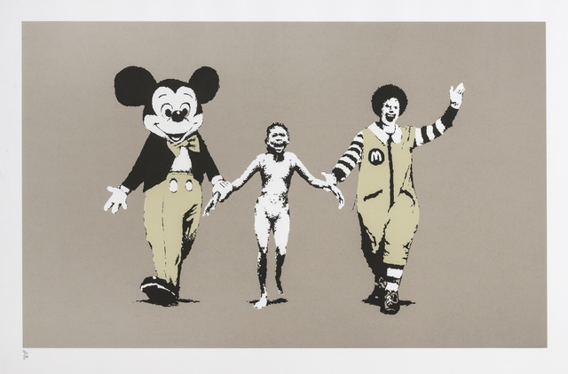 Banksy, 'Napalm', 2004, Forum Auctions