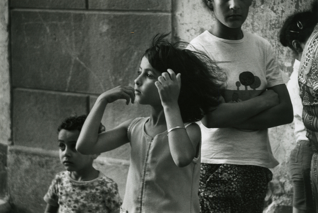 , 'Gypsy Girl, Arles,' 1979, Be-hold