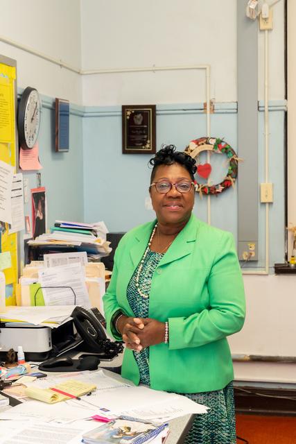 , 'Mavis Ivy-Jackson, Charles R. Henderson Elementary School,' 2018, Geary