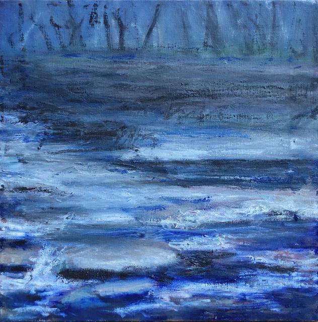 Margaret Leveson, 'Moody Muddy Stream', 2017, Blue Mountain Gallery