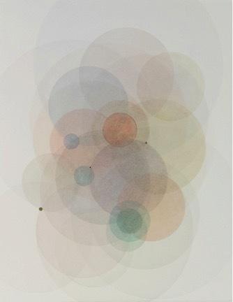 , 'Day Map 91814,' 2015, Joseph Gross Gallery