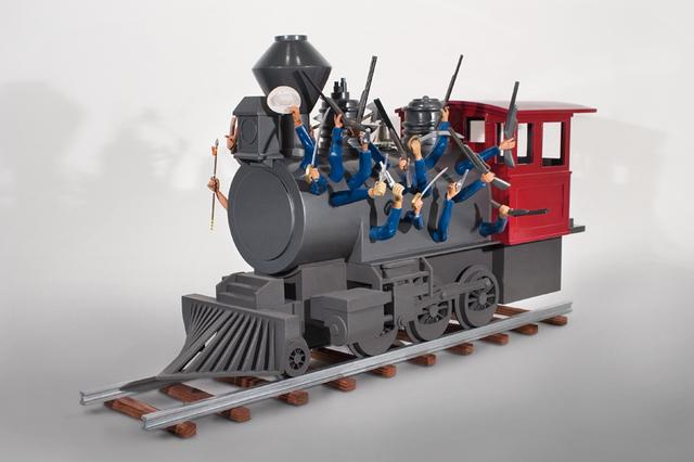 , 'Wild West Train,' 2012, Galleria Ca' d'Oro