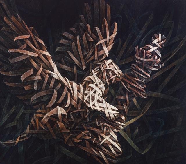 , 'Queen Mirror 2,' 2012, ARTSPACE 8