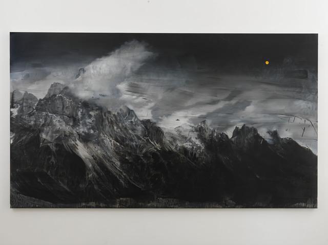 , 'Landscape, UFO, Orange,' 2018, Alfonso Artiaco