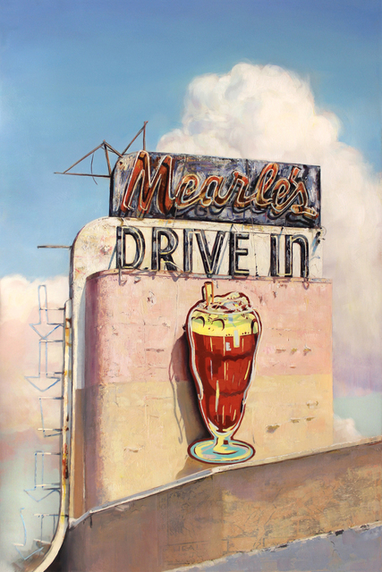 , 'Mearle's Drive In,' 2016, Sue Greenwood Fine Art