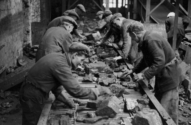 , 'Miners, Kinglassie Colliery, Scotland,' ca. 1963, Gallery Vassie