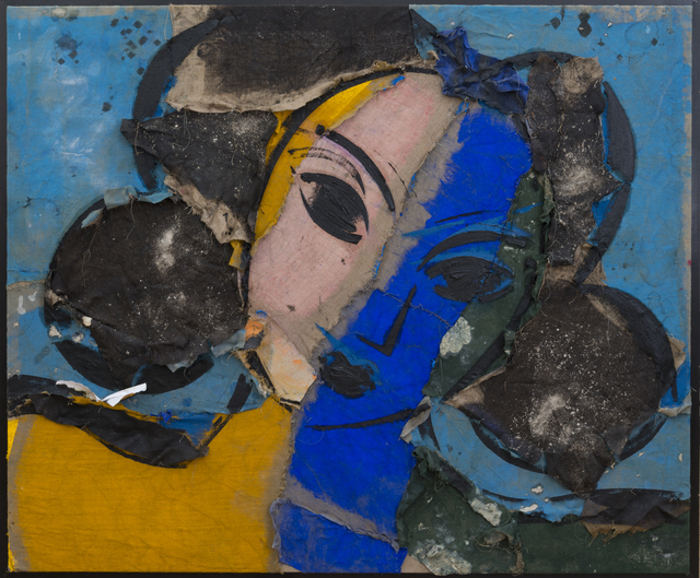 , ' Odalisca sobre fondo Azul,' 2016, Contini Art Gallery