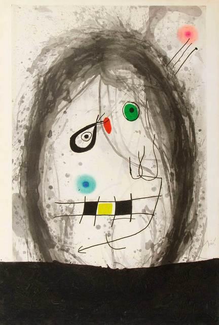 Joan Miró, 'L'exilé noir', 1969, Zeit Contemporary Art
