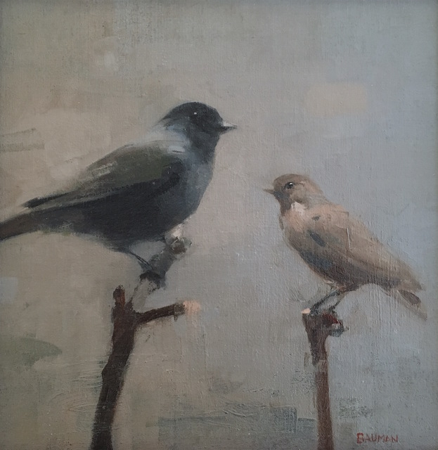 , 'Two Birds,' 2016, Grenning Gallery