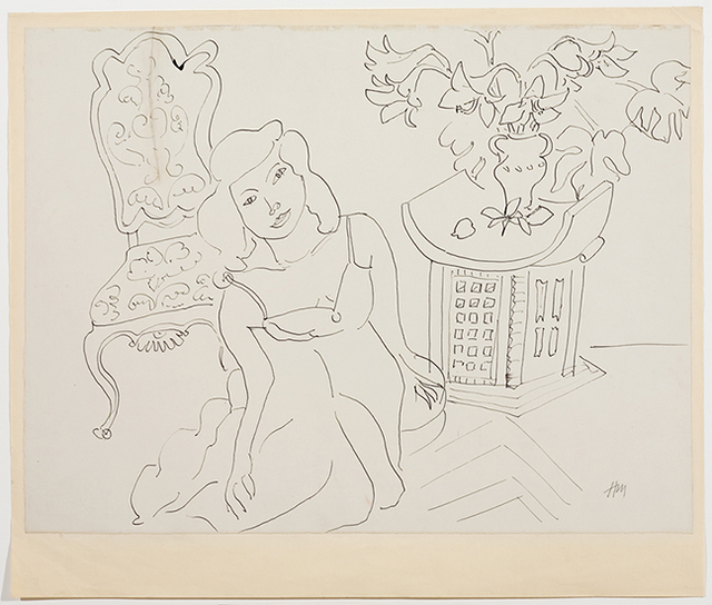 , 'Girl in an Interior,' 1941, American Federation of Arts