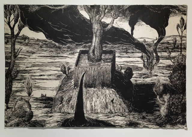 , 'Prairie Landscape: Black Wind,' 2014, dc3 Art Projects