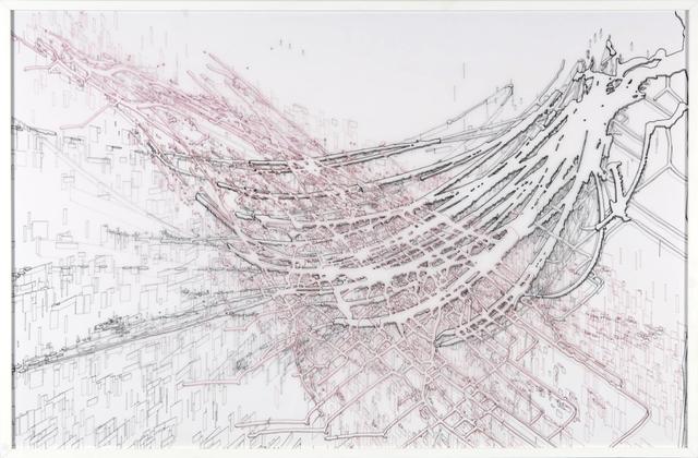 Felice Grodin, 'new frontier', 2012, Diana Lowenstein Gallery