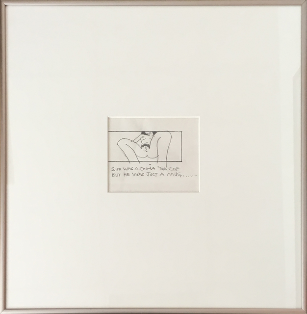 Ken Price, 'Erotic Drawing (She Was a China Tea Cup)', Undated, 203 Fine Art