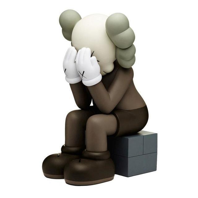 KAWS, 'Passing Through (Brown)', 2018, Sculpture, Painted cast vinyl, DIGARD AUCTION