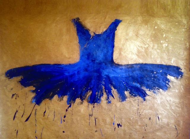 , 'Blue Blue,' 2016, Galleria Ca' d'Oro