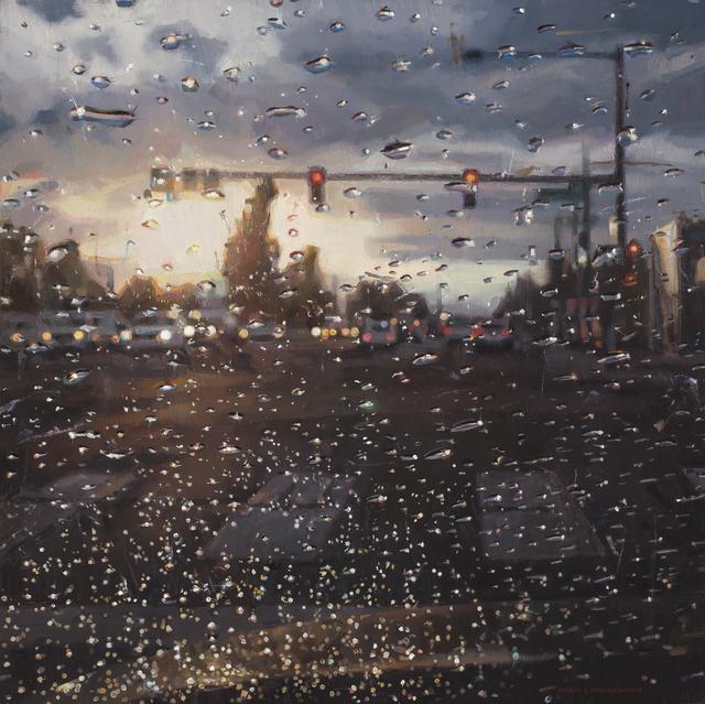 , 'Rain on Windshield, Morning Commute,' 2018, Gallery 1261