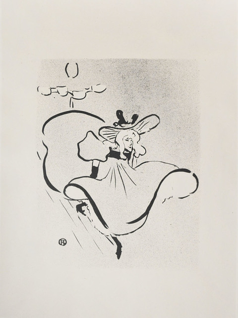 , 'Jane Avril ,' 1893, Ronin Gallery