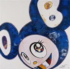 Takashi Murakami, 'And Then x 727 (Ultramarine : Gunjo)', 2003, Dope! Gallery