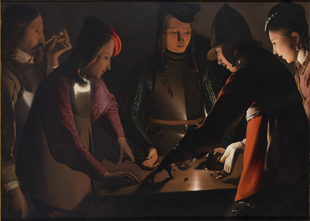 , 'Dice Players,' 1650-1651, The National Gallery, London