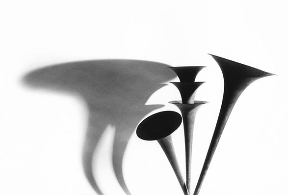 , 'Trombone and Trumpets 1,' 1994, Bernheimer Fine Art