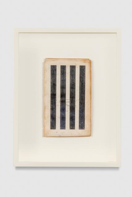 , 'Stripes,' 2016, Baert Gallery