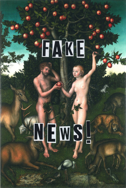 , 'Fake News ,' 2018, The Untitled Space