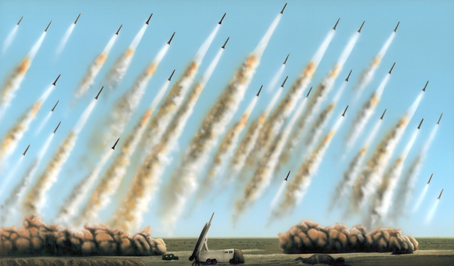 , 'Versions (Missile Variations),' 2010, Whitechapel Gallery
