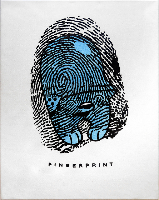 , 'Fingerprint,' 2018, KOLLY GALLERY