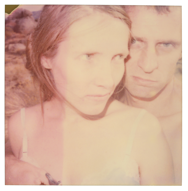 Stefanie Schneider, 'Randy and I,  part 1', 2003, Photography, Analog C-Print, hand-printed by the artist on Fuji Crystal Archive Paper, based on a Polaroid, mounted on Sintra with matte UV-Protection, Instantdreams