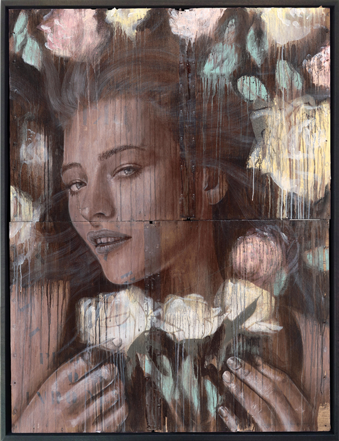 , 'Bed Of Roses,' 2014, StolenSpace Gallery