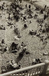 Josef Albers, 'Kleiner Strand am Nachmittag (small beach in the afternoon), Biarritz,' ca. 1929, Phillips: Photographs (April 2017)
