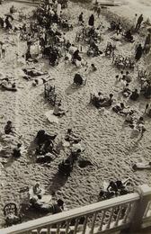 Kleiner Strand am Nachmittag (small beach in the afternoon), Biarritz