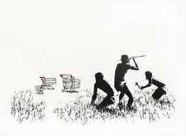 Banksy, 'Trolleys', 2007, Tate Ward Auctions