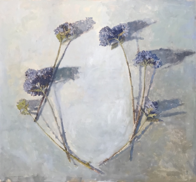 , 'Blue Hydrangeas in a Half Wreath,' 2018, Les Yeux du Monde Gallery