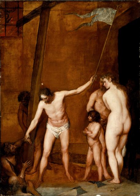 , 'Christus in der Vorhölle,' ca. 1655, Gemäldegalerie Alte Meister
