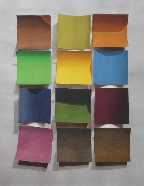 , 'Colour Samples #4,' , The Apartment