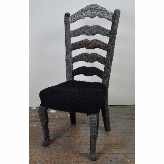 , 'Yarnbombed Chair,' ca. 2014, InLiquid