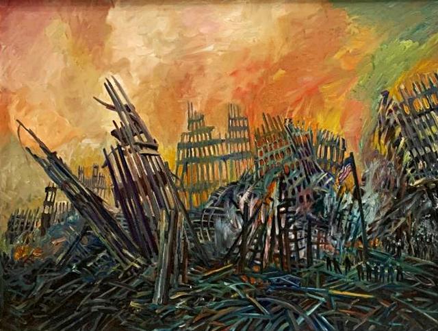 , 'Journey Through Hell,' 2001, Alpha 137 Gallery