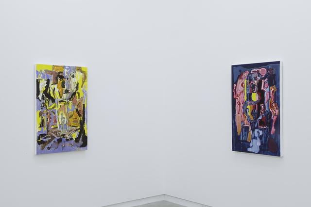 , 'left, Milk Of The Sun (Leche Del Sol); right, Scheveningen Red Scarlet Self Portrait / (Scheveningen Rojo Escarlata Autorretrato),' , Clint Roenisch Gallery