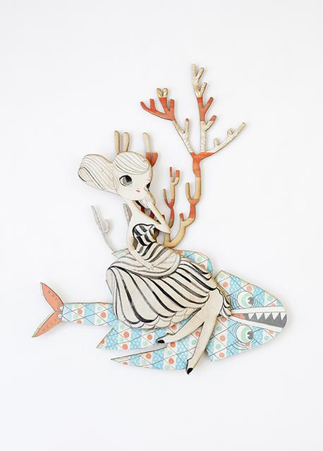 , 'Coral Float,' 2018, Spoke Art