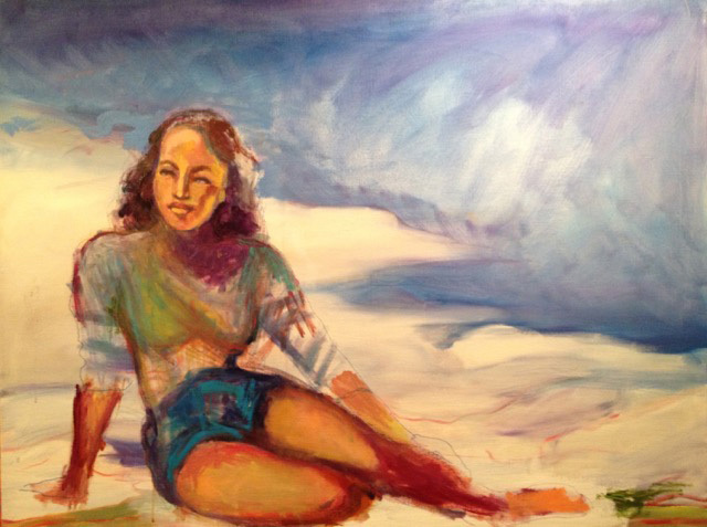, 'Beach Girl,' , Zenith Gallery