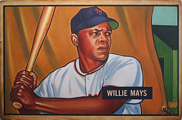 , '1951 Bowman Willie Mays,' 2017, Axiom Contemporary