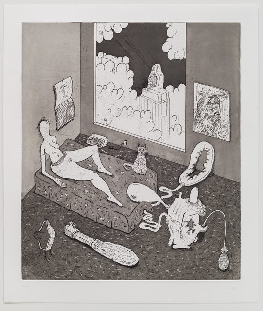 , 'Five Etchings (Penthouse),' 2015, TIF SIGFRIDS